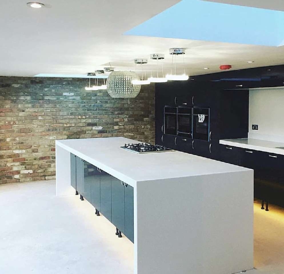 Large kitchen install