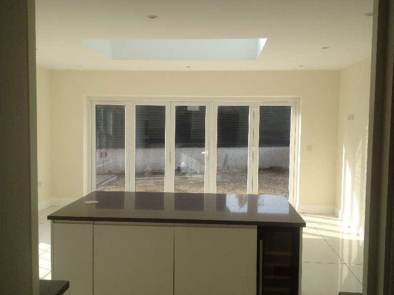 Kitchen Install in extension