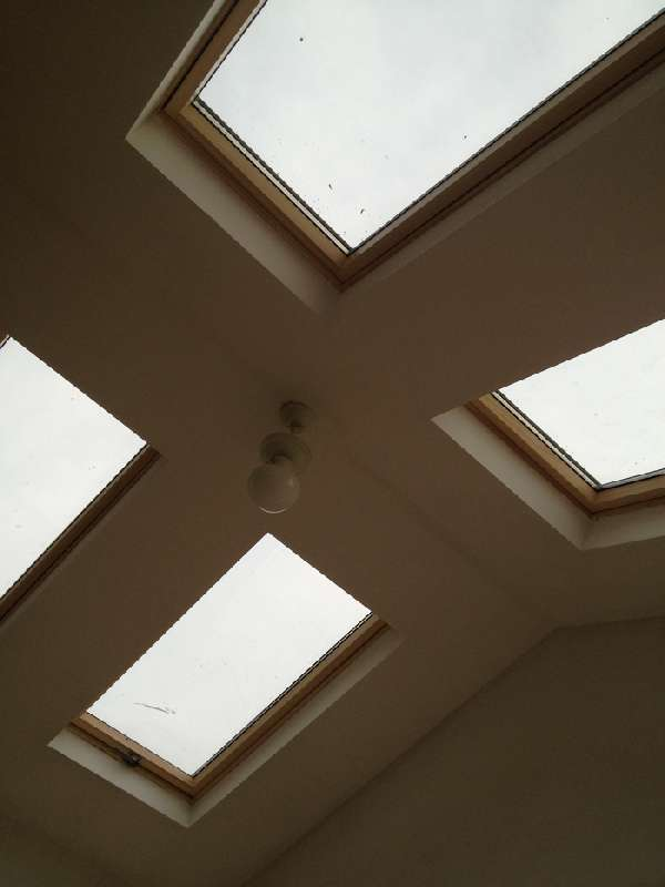 Extension ceiling windows