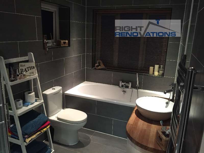 Right Renovations - bathroom remodel