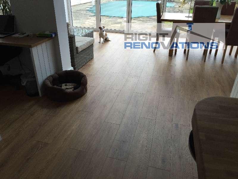Right Renovations - Full room flooring