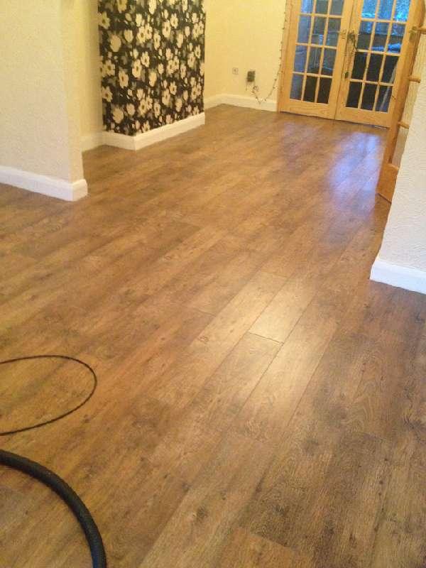 Right Renovations - Open plan flooring